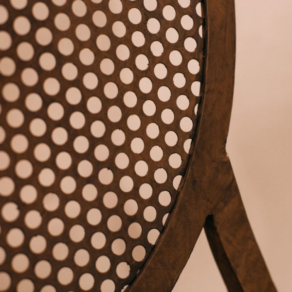 Silla Hierro Perforada