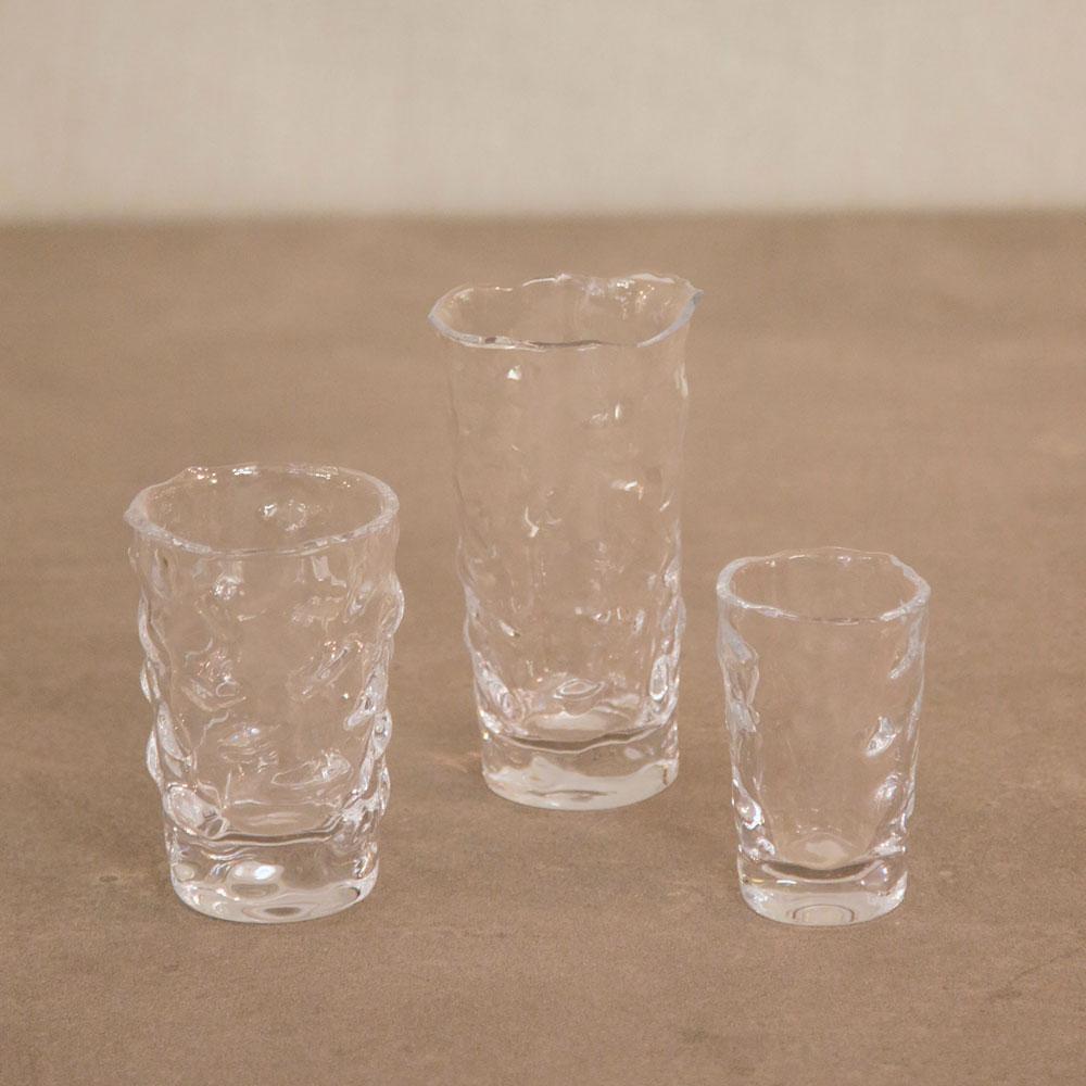 Vasos de cristal abstractos teresa gal n i arquitectura y dise o interior - Vasos grandes cristal ...