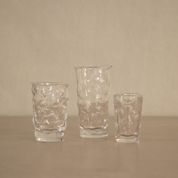 Vasos de Cristal Abstractos