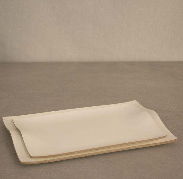 Bandejas Blancas Curvas