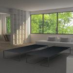 vivienda salón diseño mesas