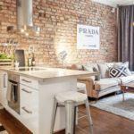 Cómo integrar la cocina abierta en la decoración del salón