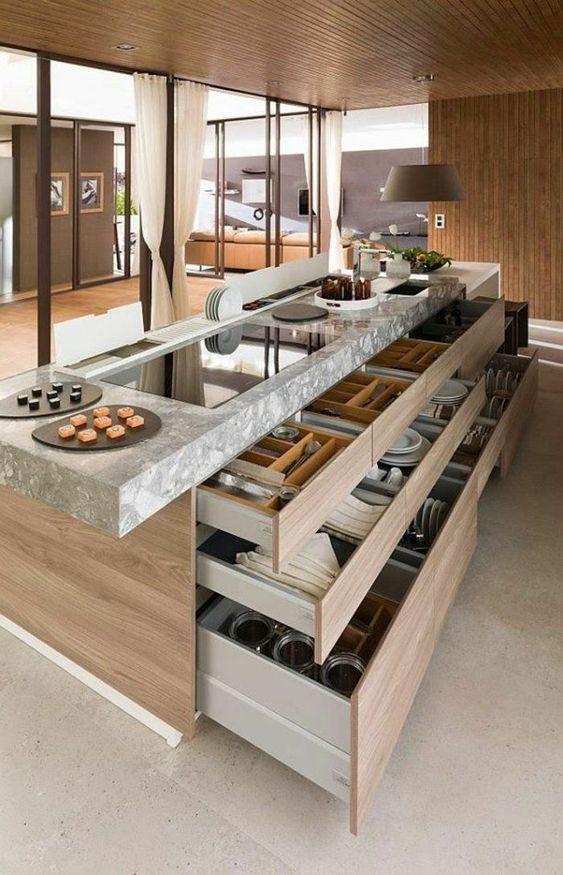 Reformar la cocina para aumentar el almacenamiento
