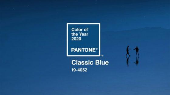 Color Pantone 2020: Classic Blue