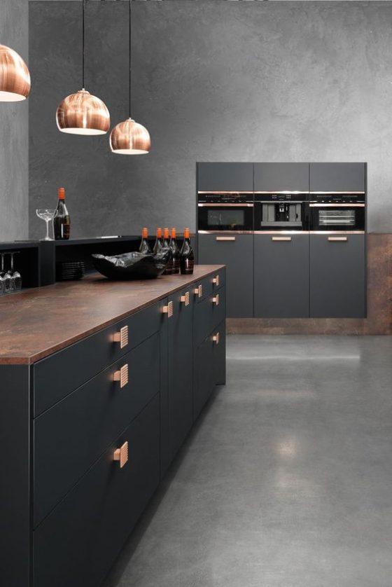 Diseñar cocinas oscuras