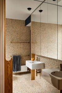 Terrazo en baños