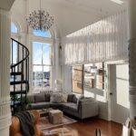 Texturas, materiales y colores para tu salón