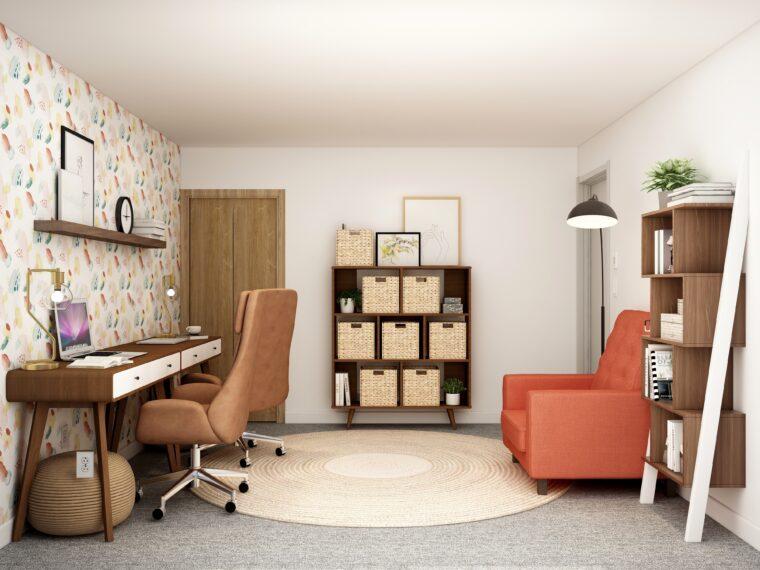 Despacho en casa   Estudios de interiorismo en Madrid, Teresa Galán